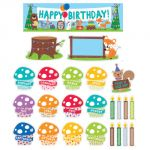 Woodland Friends Happy Birthday Mini Bulletin Board Set
