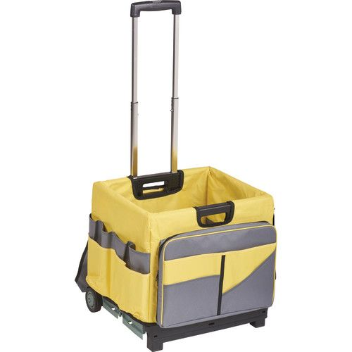 Charmant MemoryStor® Rolling Cart U0026 Organizer Bag, Yellow