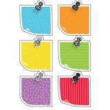 Designer Cut-Outs, Sticky Notes, 3