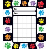 Paw Prints Incentive Pad