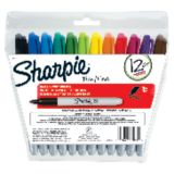 Sharpie® Fine Point Markers, 12-color set