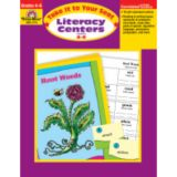Take It to Your Seat Literacy Centers, Grades 4-6