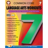 Common Core Language Arts Workouts, Grade 7