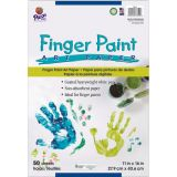 Art Street® Fingerpaint Paper, White, 11 x 16, 50 Sheets