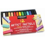 Sargent Art® Square Chalk Pastels, 12 assorted colors