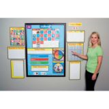 Morning Meeting Solutions™ Photographic Bulletin Board Set, Grade K