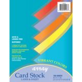 Pacon® Array® Card Stock, Vibrant Colors