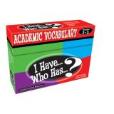 I Have...Who Has...? Academic Vocabulary, Grades 2-3