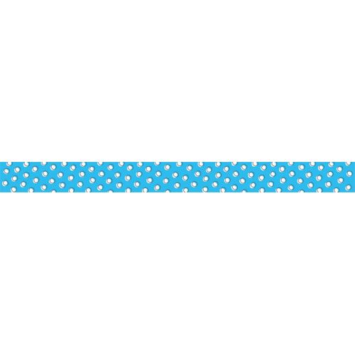 so much pun doodle dots on blue border ctp8491