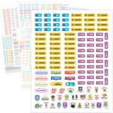 Emoji Lesson Planner Stickers
