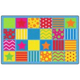Silly Seating Rug, 7'6 x 12' Rectangle