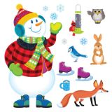 Super Snowman Bulletin Board Set