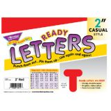 2 Uppercase Casual Solids Ready Letters®, Red