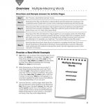 Everyday Intervention Activities for Vocabulary, Grade 3