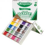 Crayola® Classpack Markers, 200 ct., non-washable fine line, 10 assorted colors