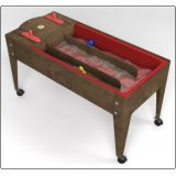 Wave Rave™ Activity Center with Sand & Water Table, Chocolate