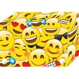 Smart Poly™ Index Card Boxes for 4 x 6 Cards, Emojis