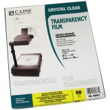 C-Line® Laser Printer/Plain Paper Copier Transparency Film, Box of 50
