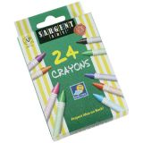 Sargent Art® Crayons, 24 count tuck box