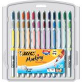 BIC® Intensity Permanent Markers, 36 count, Ultrafine Point