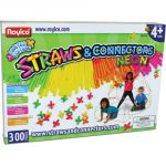 Straws & Connectors™, 300 pieces, Neon colors