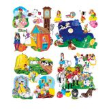 Nursery Rhymes Complete Flannelboard Set
