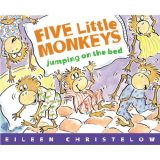Five Little Monkeys Jumping on the Bed, Paperback