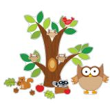 Owl Bulletin Board Set