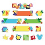 Geo Mickey® Welcome Mini Bulletin Board Set