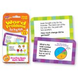 Test Prep Math Word Problems Challenge Cards®, Grades 1-3