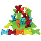 Tall-Stackers™ Mighty Monkey® Pegs & Pegboard Set