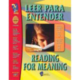 Leer para Entender/Reading for Meaning