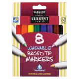 Sargent Art® Washable Felt Super Tip Markers, Broad Tip