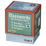 Classwords: The Vocabulary Game, Grade 4