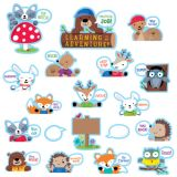 Woodland Friends Peek-Overs Bulletin Board Set