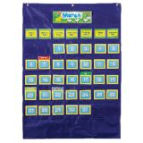 Deluxe Calendar Pocket Chart, Blue