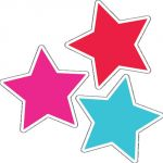 Schoolgirl Style™ Twinkle Twinkle You're a Star! Color Stars Colorful Cut-Outs®