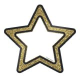 Sparkle Shine Colorful Cut-Outs®, Gold Glitter Stars
