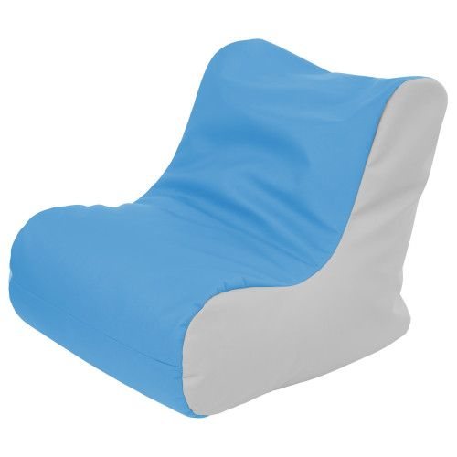 Miraculous Softzone Bean Bag Soft Seat Youth French Blue Light Gray Andrewgaddart Wooden Chair Designs For Living Room Andrewgaddartcom