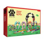 Animal Magnetism Magnet Friends Big Pack: Farm