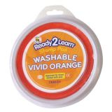 Jumbo Circular Washable Stamp Pad, Vivid Orange