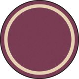 Portrait™ Rug, 7'7 Round, Heather