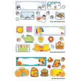 Seasonal Mini Bulletin Board Set
