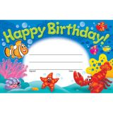 Happy Birthday Sea Buddies® Recognition Awards
