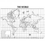 The World Map Activity Poster