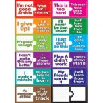 Magnetic Mini Bulletin Board Set, Growth Mindset