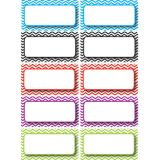 Die-Cut Magnets, Color Chevron Nameplates