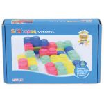 SiliShapes® Soft Bricks, Set of 24