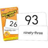 Numbers 0-100 Flash Cards