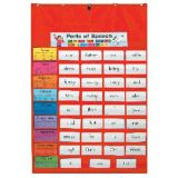 Original Pocket Chart, Red